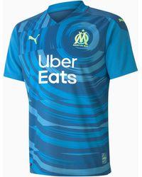 PUMA Olympique De Marseille Replica Herenjersey - Blauw