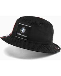 PUMA BMW M Motorsport Bucket Hat - Schwarz