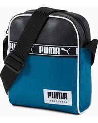 PUMA Kleine Campus Umhängetasche - Blau