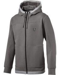 a3e0693608 PUMA Scuderia Ferrari Life Men's Midlayer Full Zip Hooded Jacket in ...