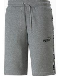 "PUMA Shorts Tape Tr 10"" - Gris"