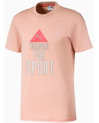 PUMA Tailored for Sport Industrial T-Shirt - Pink