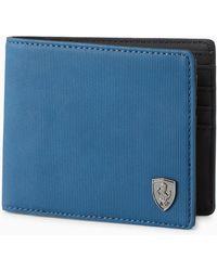 PUMA - Scuderia Ferrari Style Wallet - Lyst
