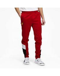 PUMA Scuderia Ferrari Race Mcs Track Pants - Red