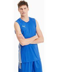 PUMA Basketbal Wedstrijdshirt - Blauw