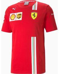 PUMA Ferrari Team T-Shirt - Rot