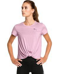 PUMA Turn It Up Short Sleeve Trainingsshirt - Roze