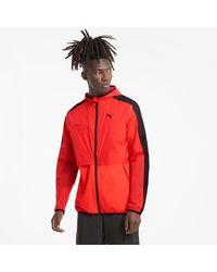PUMA Ultra Gewebte Trainingsjacke - Rot