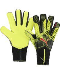 PUMA Future Grip 18.1 Goalie's Gloves - Yellow