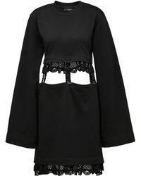 PUMA - Kimono Sleeve Suspender Dress - Lyst