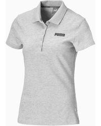PUMA Essentials Polo - Grau