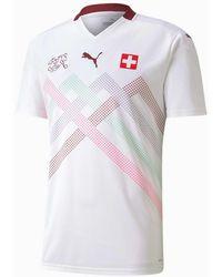 PUMA Schweiz Replica Auswärtstrikot - Weiß