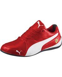 Lyst - Puma Ferrari Drift Cat 6 Nm Men s Shoes in White for Men 37c4e9008