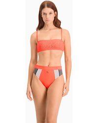PUMA Bikini Bandeautop - Oranje