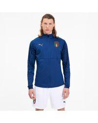 PUMA Italia Heim Stadium Jacke - Blau