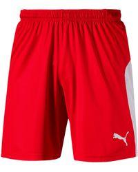 PUMA Pantaloncini LIGA - Rosso
