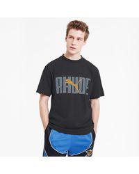PUMA X Rhude Heren-t-shirt Met Graphic - Zwart