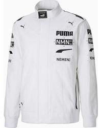 PUMA X NEMEN Racing Trainingsjacke - Weiß