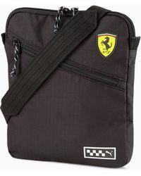 PUMA Scuderia Ferrari Sportswear Portable Bag - Black