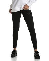 PUMA Plus - Classics Logo T7 - E legging - Zwart