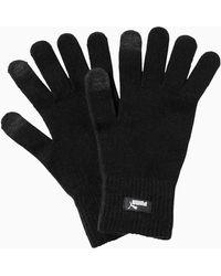 PUMA Gebreide Handschoenen - Zwart