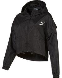 PUMA - Retro Windrunner Zip-up Women's Hooded Jacket - Lyst