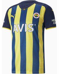 PUMA Fenerbahçe S.k Ftblcore T-shirt - Blauw