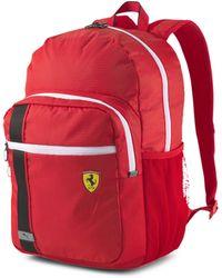 PUMA Scuderia Ferrari Race Backpack - Red