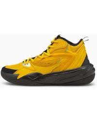 PUMA Dreamer 2 Mid Basketballschuhe - Gelb