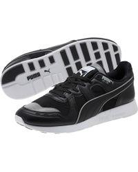 d5738a6ea4df Lyst - PUMA Fierce Strap Swan Black Sneaker in Black for Men