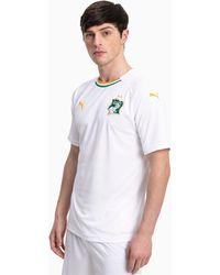PUMA Ivoorkust Uitwedstrijd-replicashirt - Wit