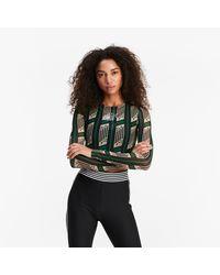 PUMA Queen Kort T-shirt Met Lange Mouwen - Meerkleurig