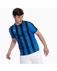 PUMA Liga Striped Football Jersey - Blauw