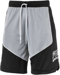 PUMA Hoops Game Basketballshorts - Schwarz