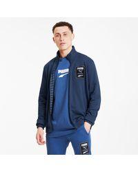 PUMA - Recheck Knitted Jacket - Lyst