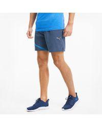 PUMA IGNITE Gewebte Running Shorts - Blau