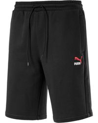 PUMA Shorts Classics Embroidered - Nero