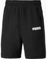 PUMA Essentials Jersey Herenshort - Zwart