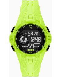 PUMA Reloj Digital Bold - Amarillo