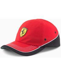 PUMA Scuderia Ferrari Baseballcap - Rot