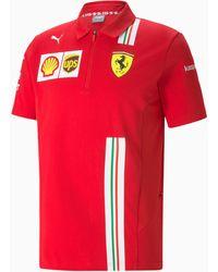 PUMA Ferrari Team Polo - Rood