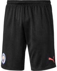 PUMA Manchester City FC Replica Shorts - Schwarz