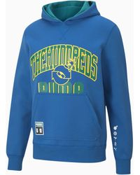 PUMA X The Hundreds Dubbelzijdige Herenhoodie - Blauw
