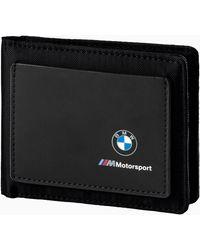 PUMA Bmw M Motorsport Wallet - Zwart