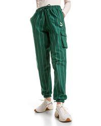 PUMA Chino Baggy Pants - Groen