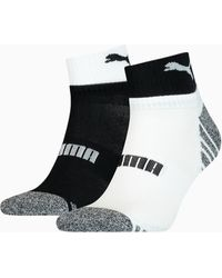 PUMA Seasonal Quarter Socken 2er-Pack - Mehrfarbig