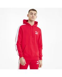 PUMA Iconic T7 Hoodie - Red