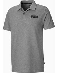 PUMA Essentials Piqué Poloshirt - Grijs