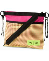PUMA X First Mile Sacoche Bag - Pink