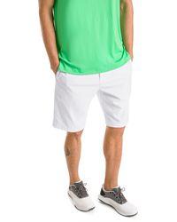 PUMA Jackpot Woven Golf Shorts - Bianco